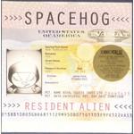 """SPACEHOG RESIDENT ALIEN  (LTD 2LP CREAM / PINK SPLATTER """"BRITISH PASSPORT"""" EDITION RSD"""