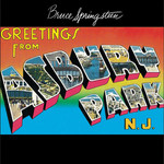 BRUCE SPRINGSTEEN & THE E STREET BAND GREETINGS FROM ASBURY PARK, N.J. (LP)