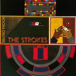 THE STROKES ROOM ON FIRE  TRANSLUCENT RED + YELLOW 'FLAME' VINYL