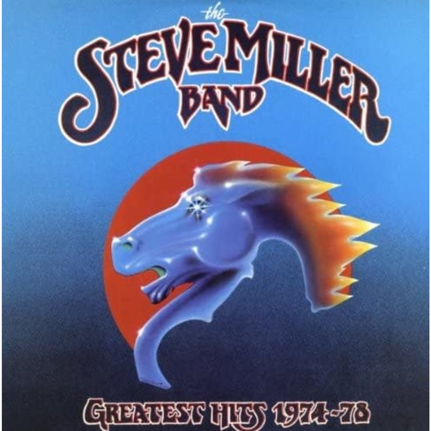 STEVE MILLER BAND GREATEST HITS 1974-78 LIMITED EDITION LP