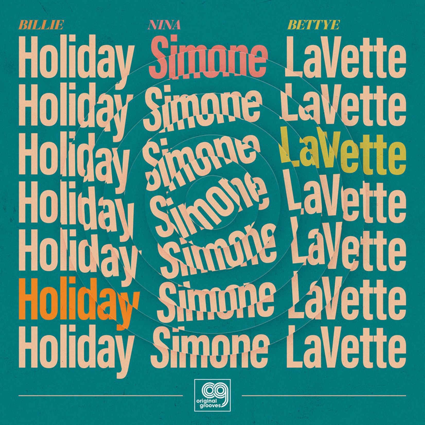"BILLIE HOLIDAY BF20 - ORIGINAL GROOVES: BILLIE HOLIDAY, NINA SIMONE, BETTYE LAVETTE 12"" SINGLE"