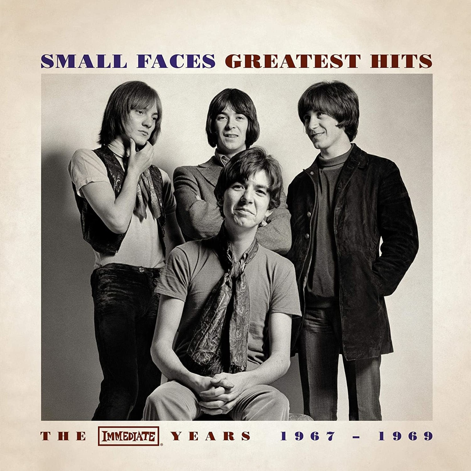 SMALL FACES GREATEST HITS - THE IMMEDIATE YEARS 1967-1969 (LP)