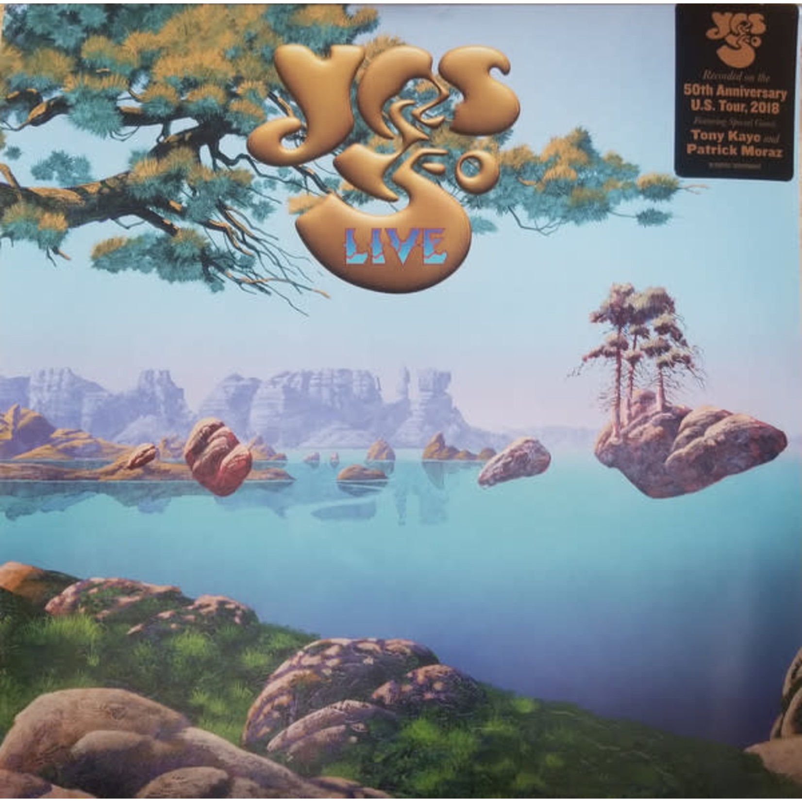 YES 50 LIVE (4LP)
