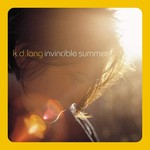 K.D. LANG INVINCIBLE SUMMER 20TH ANNIVERSARY EDITION  FLAME COLOURED LP