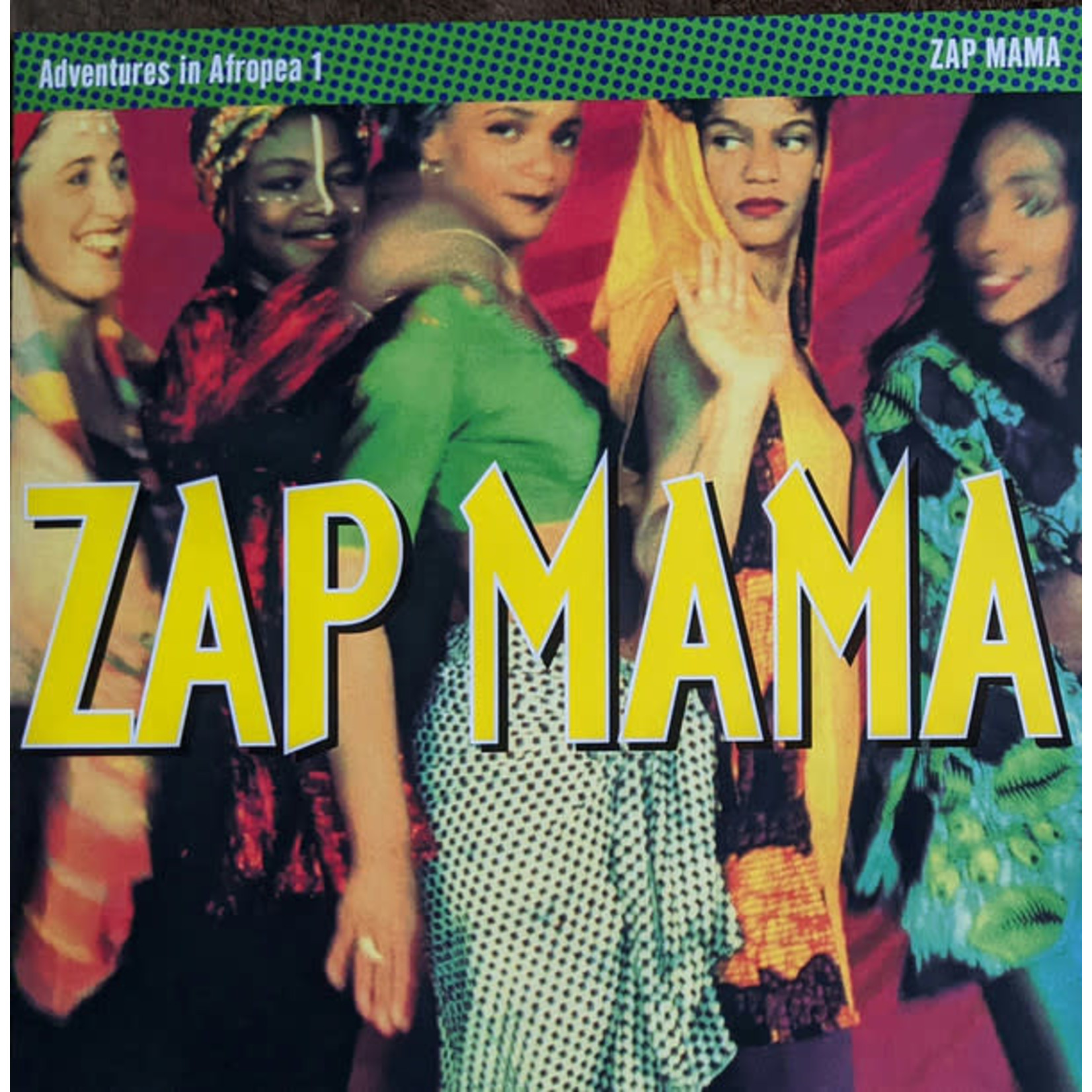 ZAP MAMA ADVENTURES IN AFROPEA (MAGENTA SPLATTER VINYL)