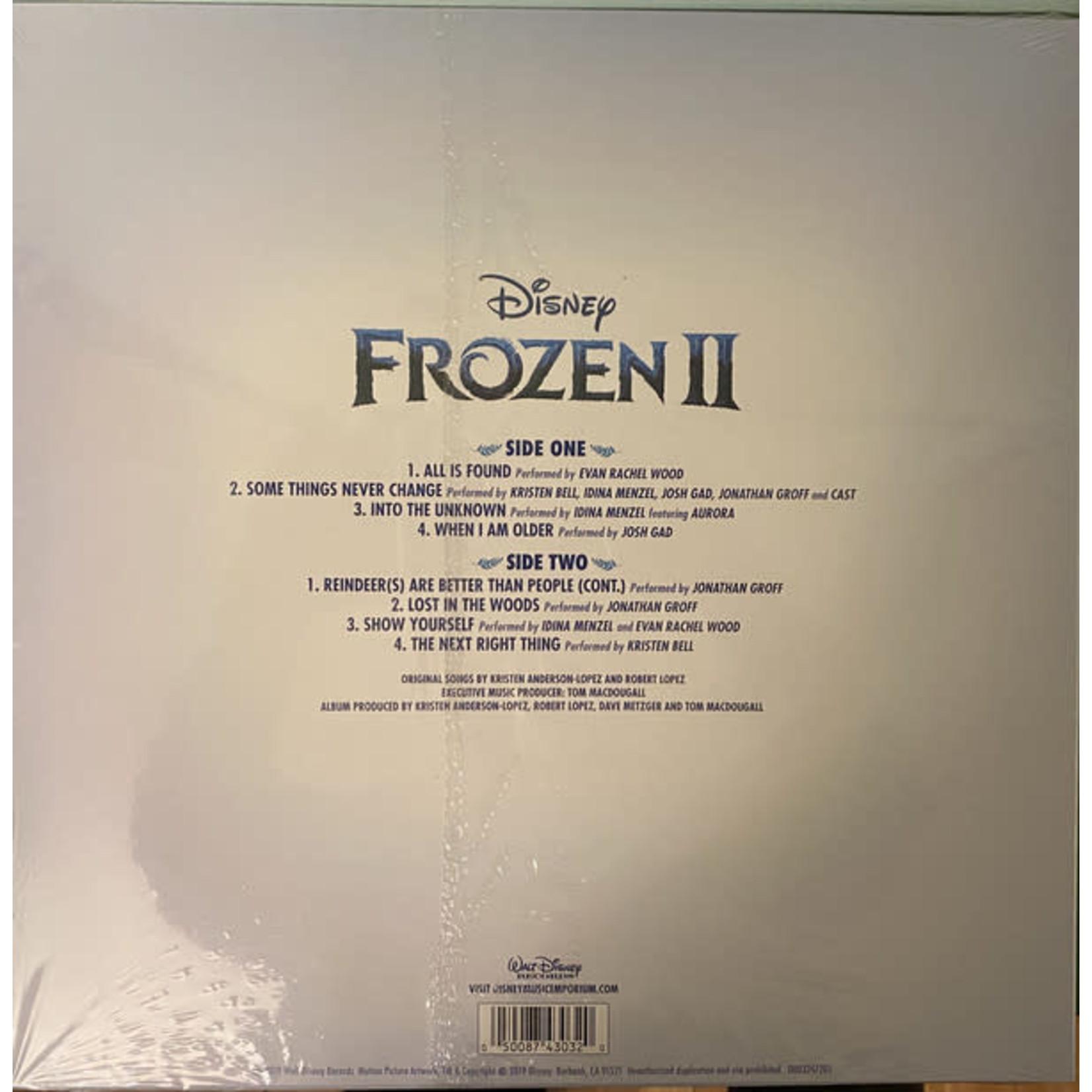 VARIOUS ARTISTS FROZEN 2: THE SONGS (LP)
