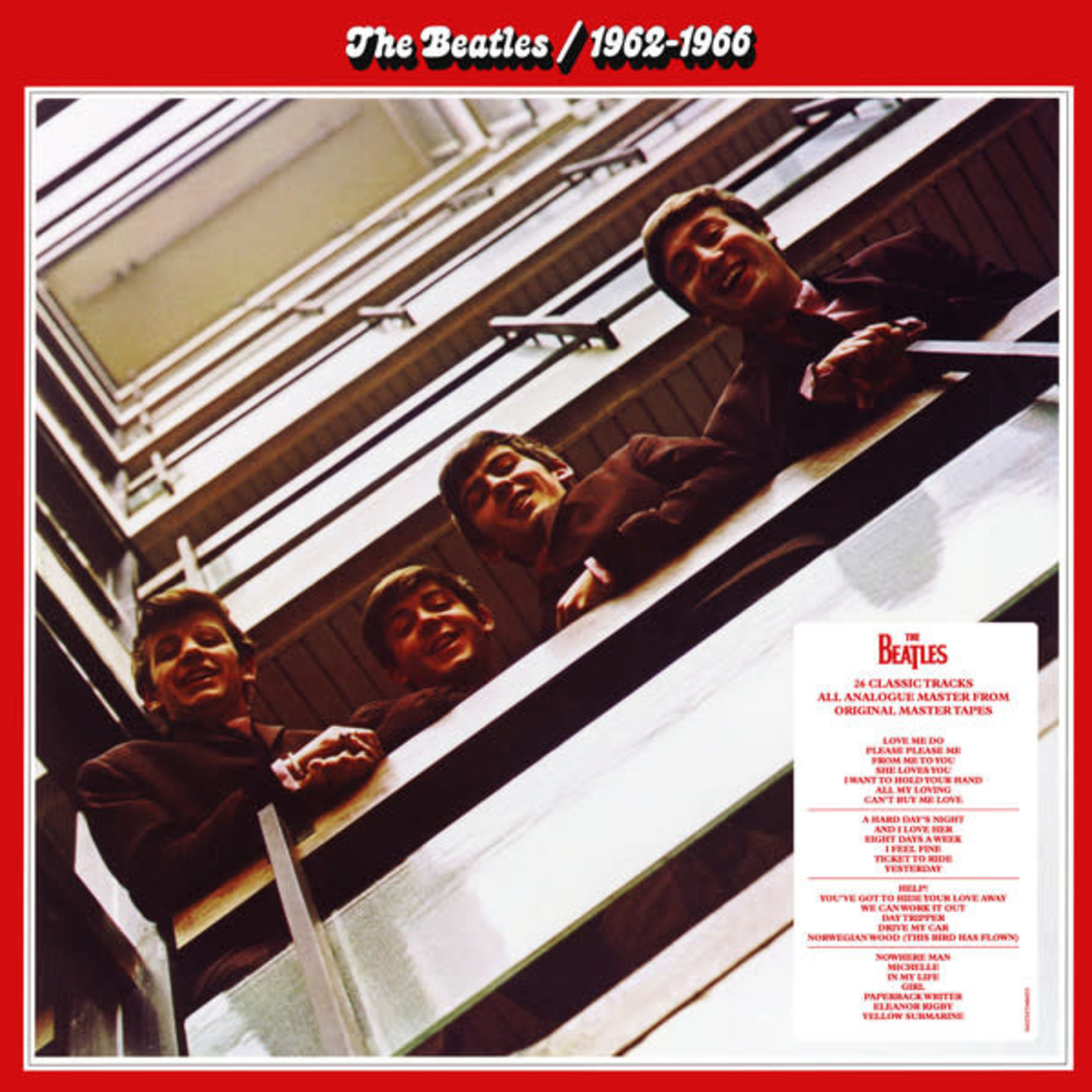 THE BEATLES 1962 - 1966 (RED)