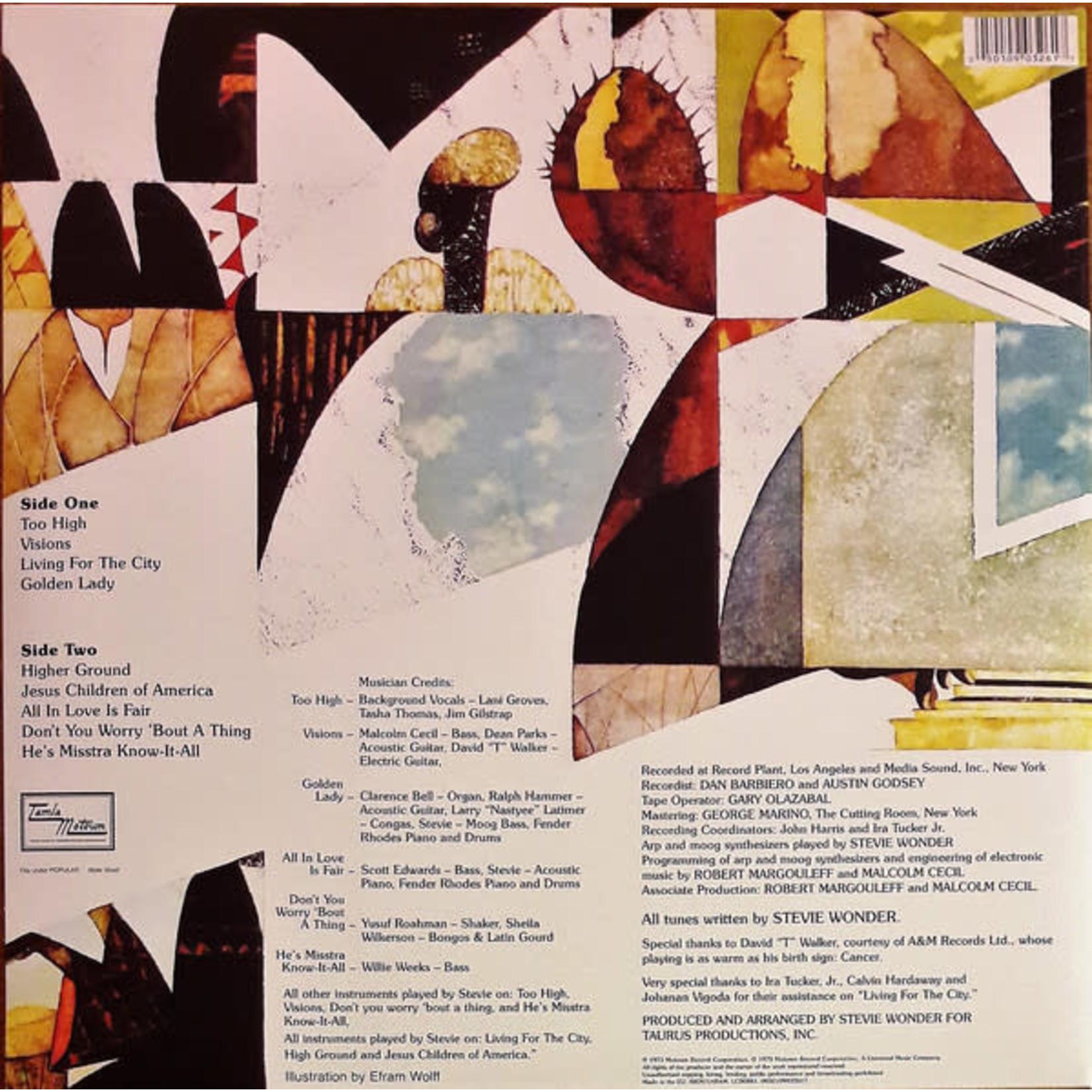 STEVIE WONDER INNERVISIONS (LP)