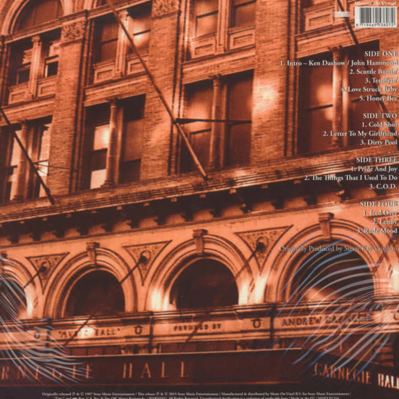 STEVIE RAY VAUGHAN LIVE AT CARNEGIE HALL (2LP)