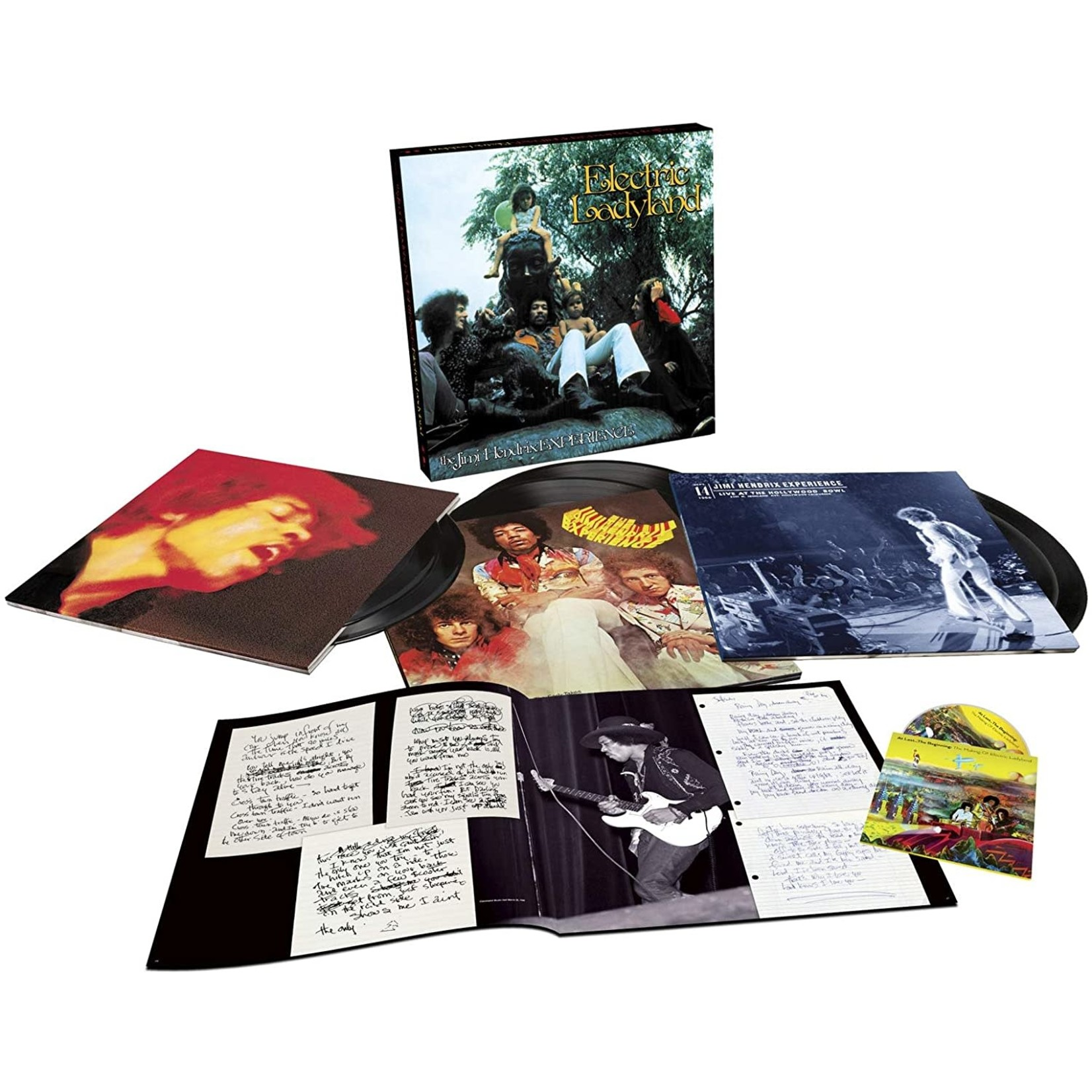 JIMI HENDRIX ELECTRIC LADYLAND - 50TH ANNIVERSARY DELUXE EDITION