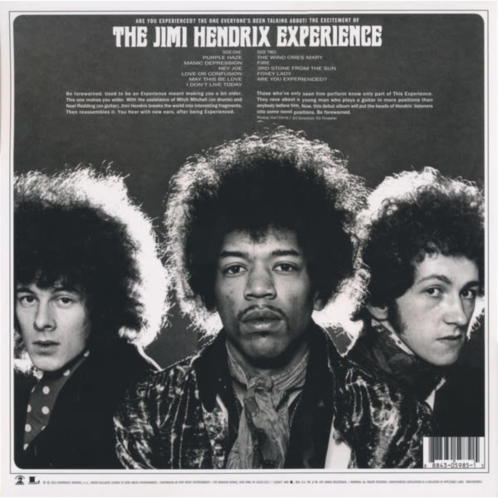 JIMI HENDRIX ARE YOU EXPERIENCED