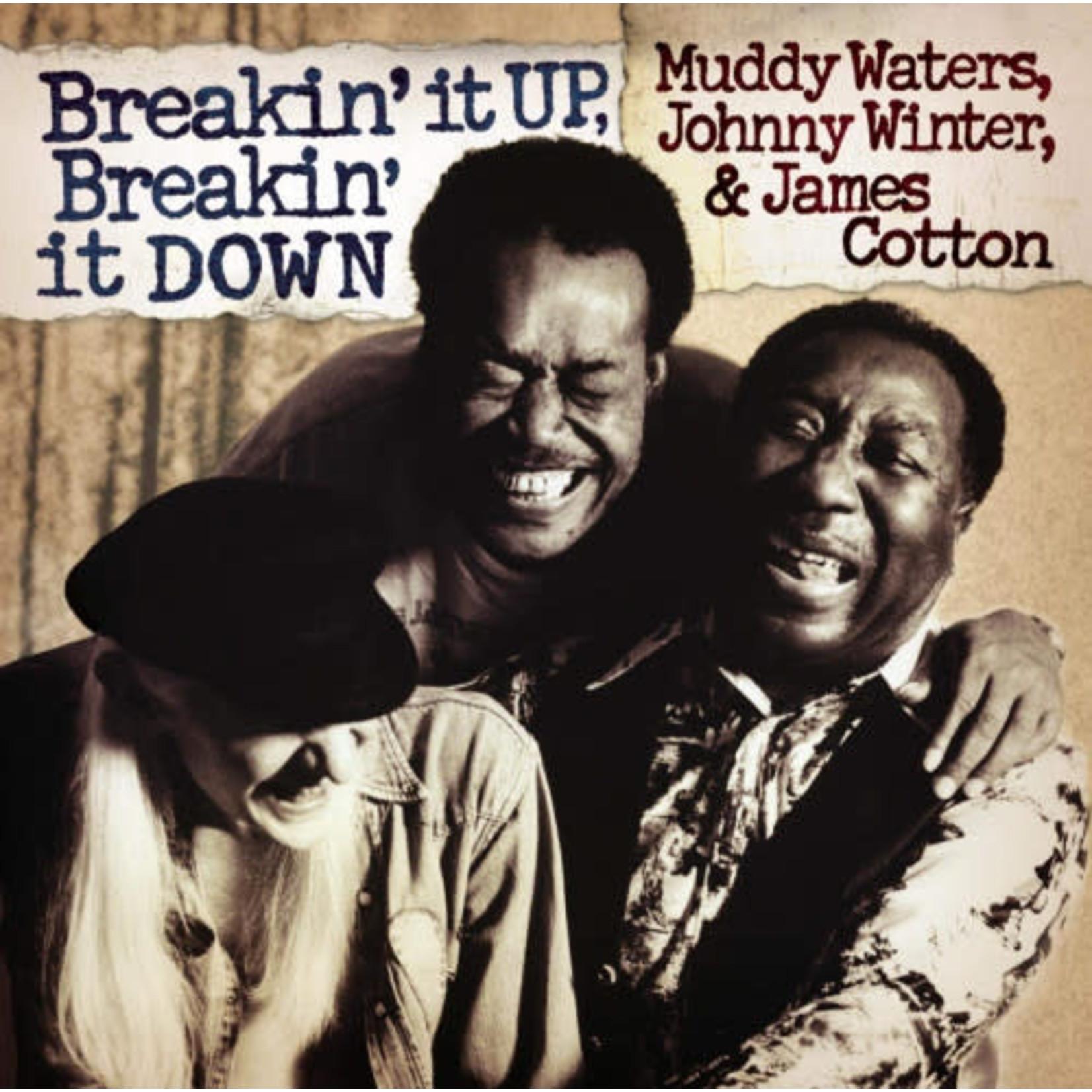 MUDDY WATERS BREAKIN' IT UP, BREAKIN' IT DOWN (180g AUDIOPHILE TRANSLUCENT GOLD VINYL/LTD ED)