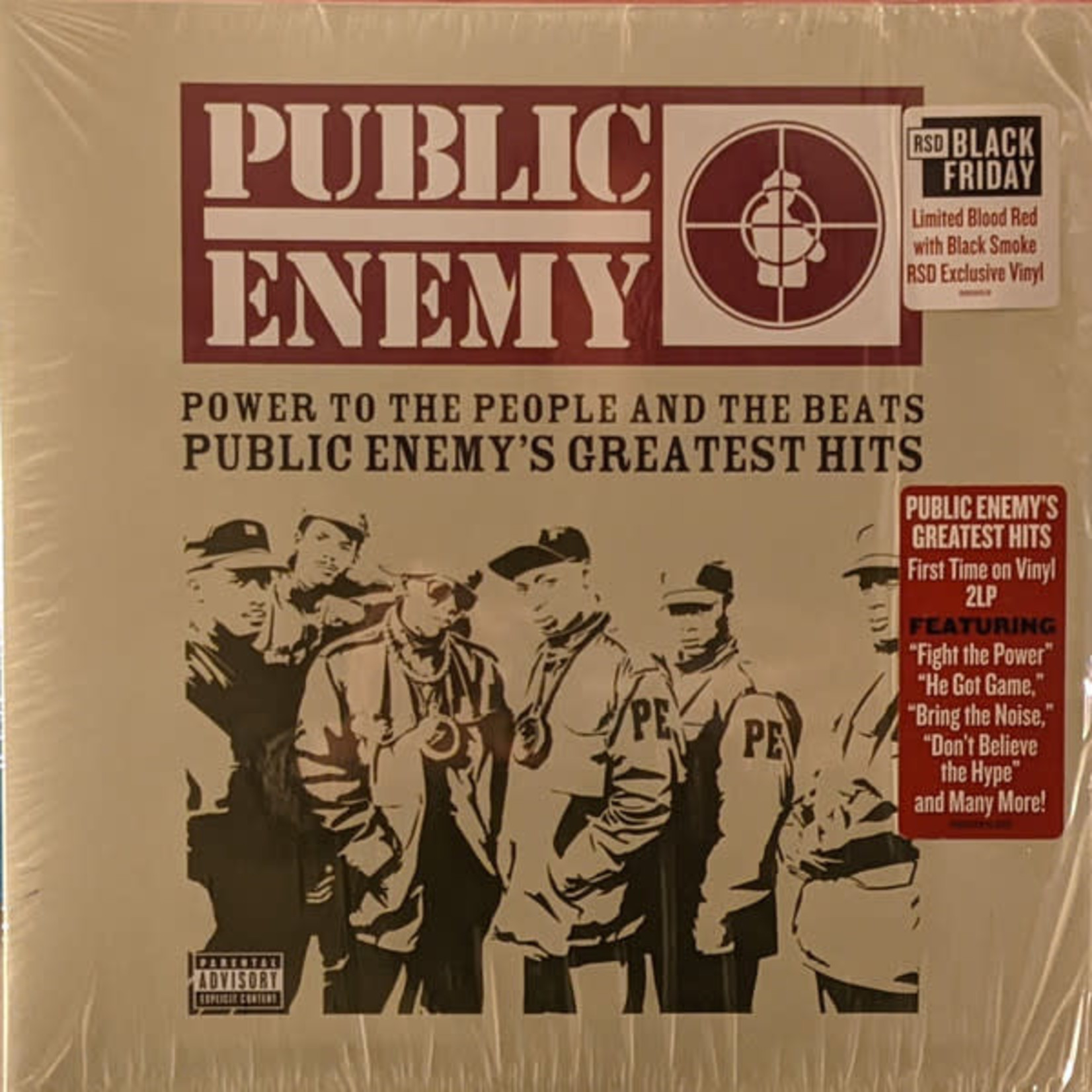PUBLIC ENEMY BF20 - POWER TO THE PEOPLE AND THE BEATS (EX 2LP)