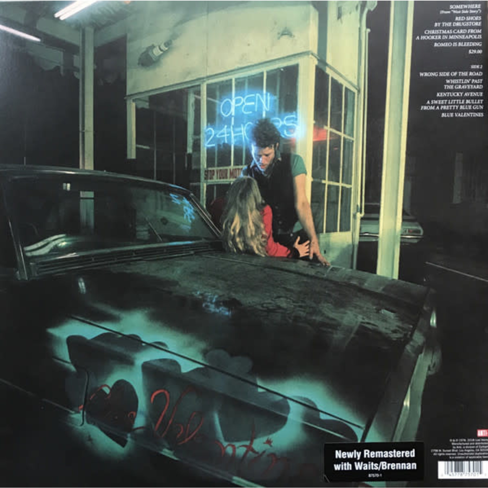 TOM WAITS BLUE VALENTINE (2018 REMASTER LP)