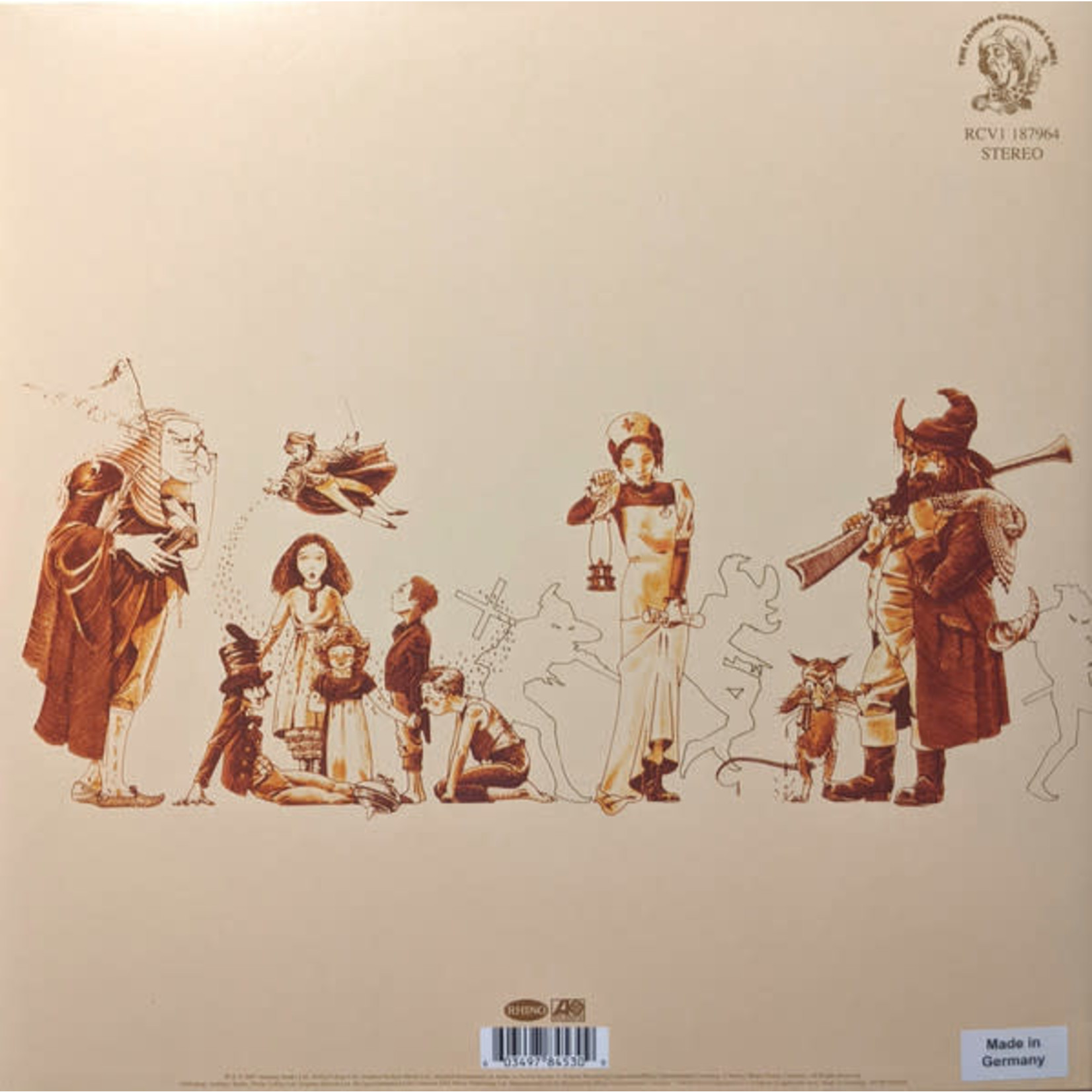 GENESIS A TRICK OF THE TAIL (EASTER YELLOW LP)