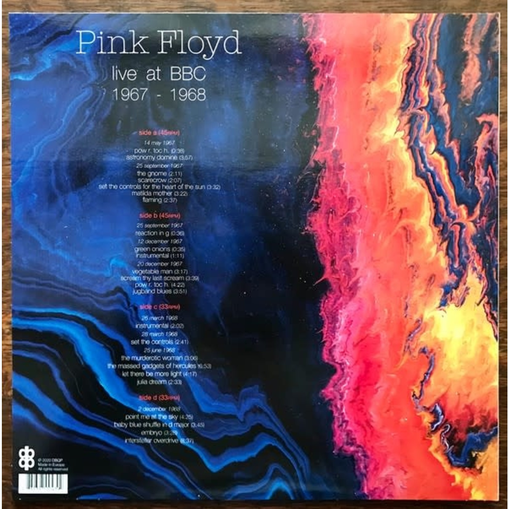 PINK FLOYD BBC 1967-1968 (2LP)