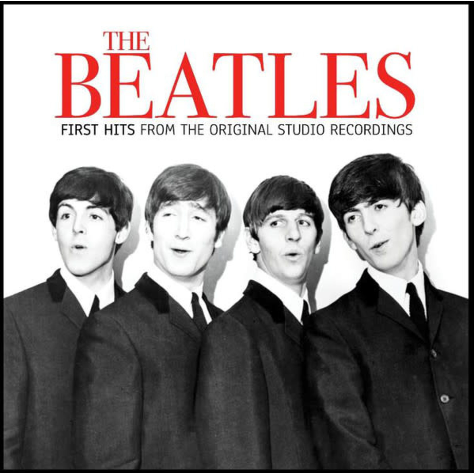 THE BEATLES FIRST HITS   RED VINYL LP