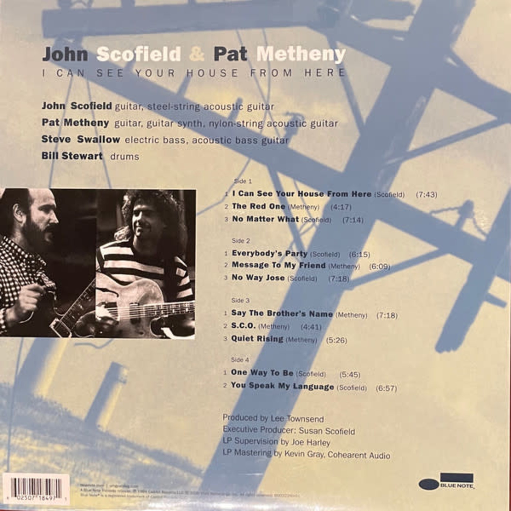 JOHN SCOFIELD I CAN SEE YOUR HOUSE FROM HERE (2LP)