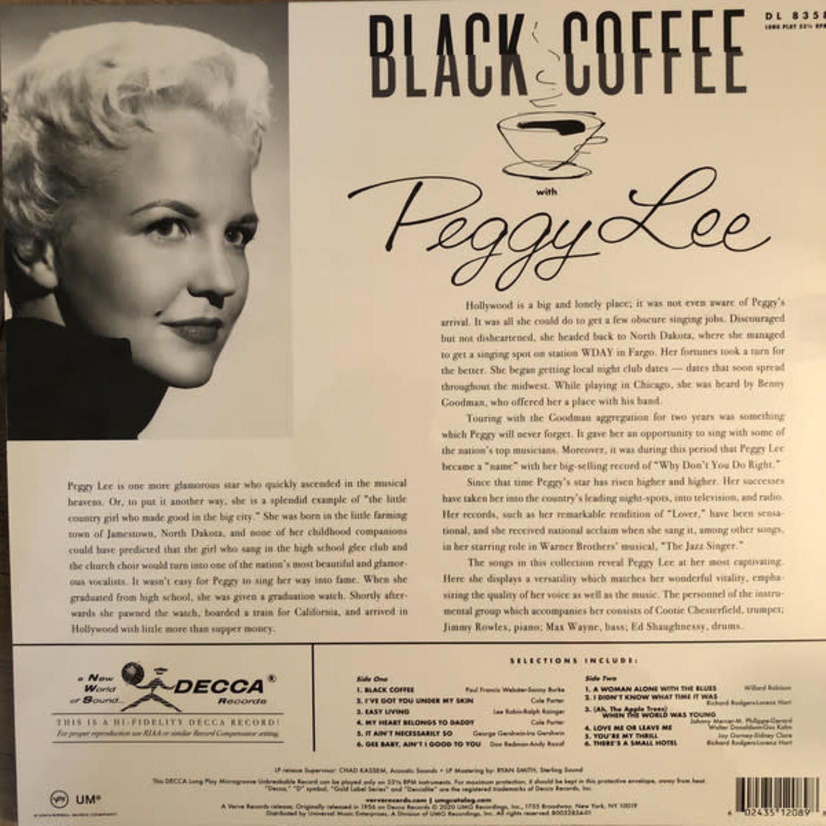 PEGGY LEE BLACK COFFEE (ACOUSTIC/LP)