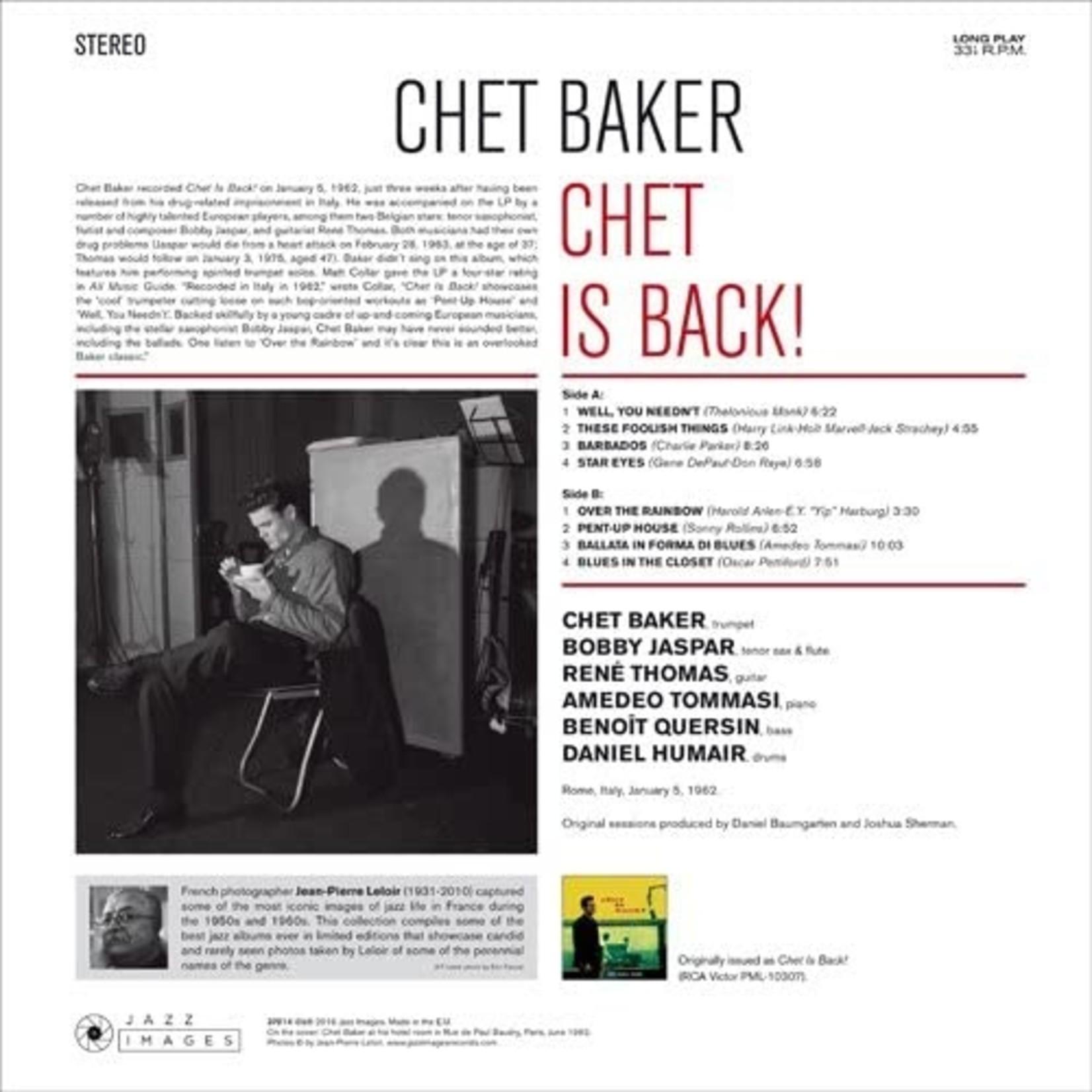 CHET BAKER CHET IS BACK!