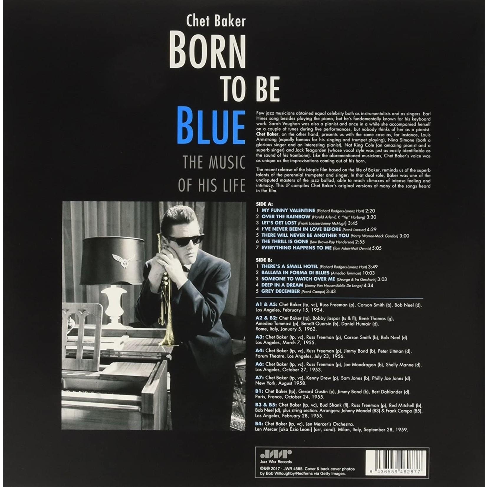 CHET BAKER BORN TO BE BLUE