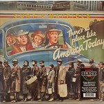 CURTIS MAYFIELD THERE'S NO PLACE LIKE AMERICA TODAY (BLUE LP)