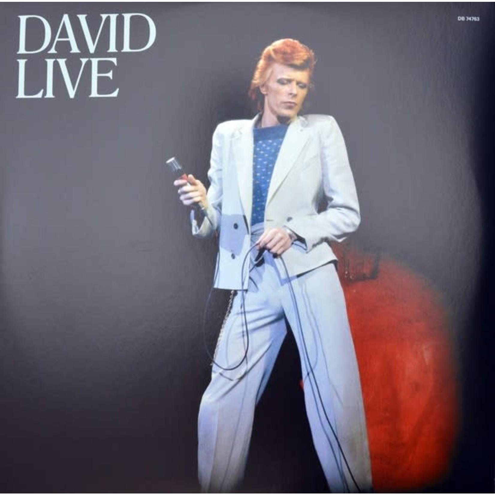 DAVID BOWIE DAVID LIVE  2005 MIX  REMASTERED 3LP