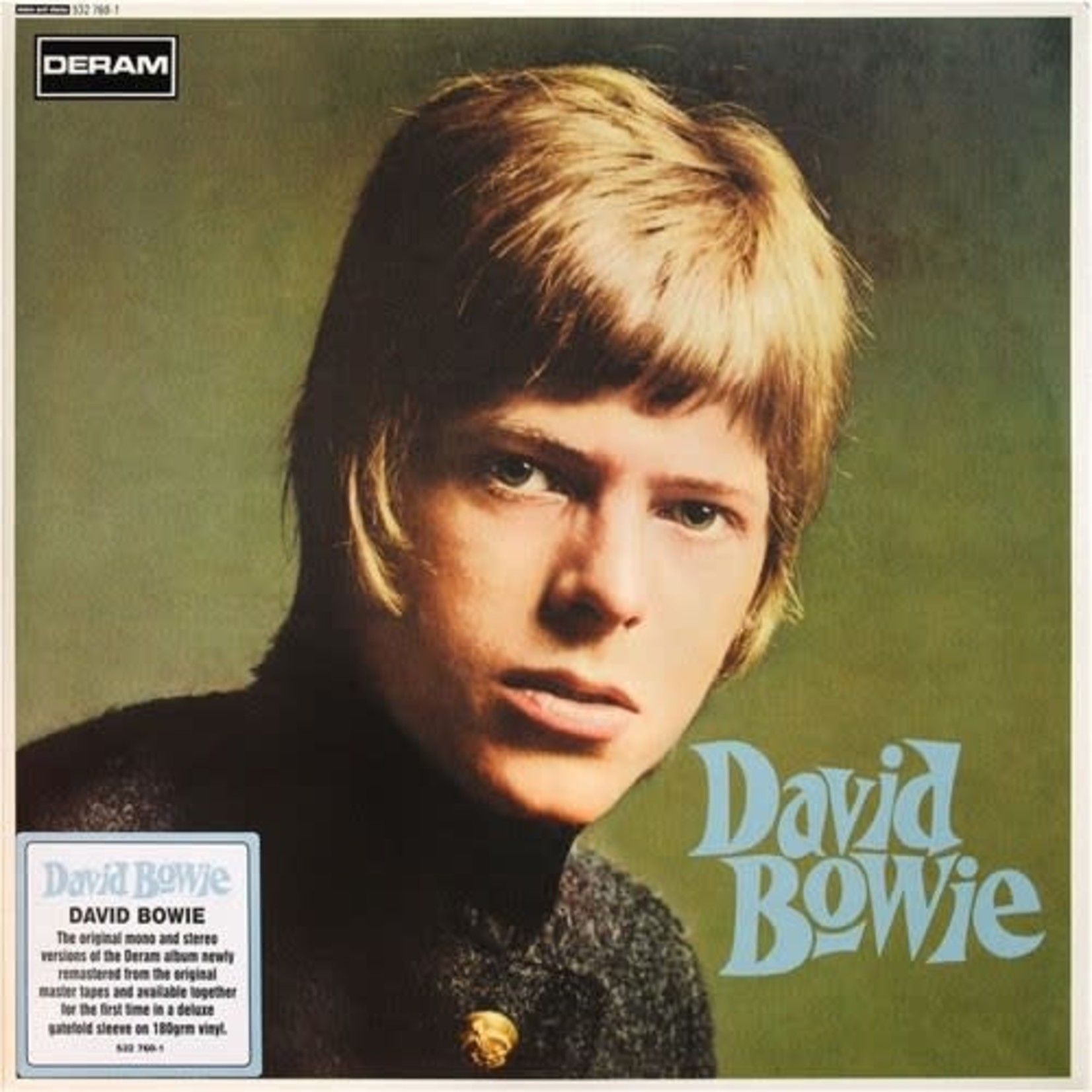 DAVID BOWIE - DAVID BOWIE  2LP