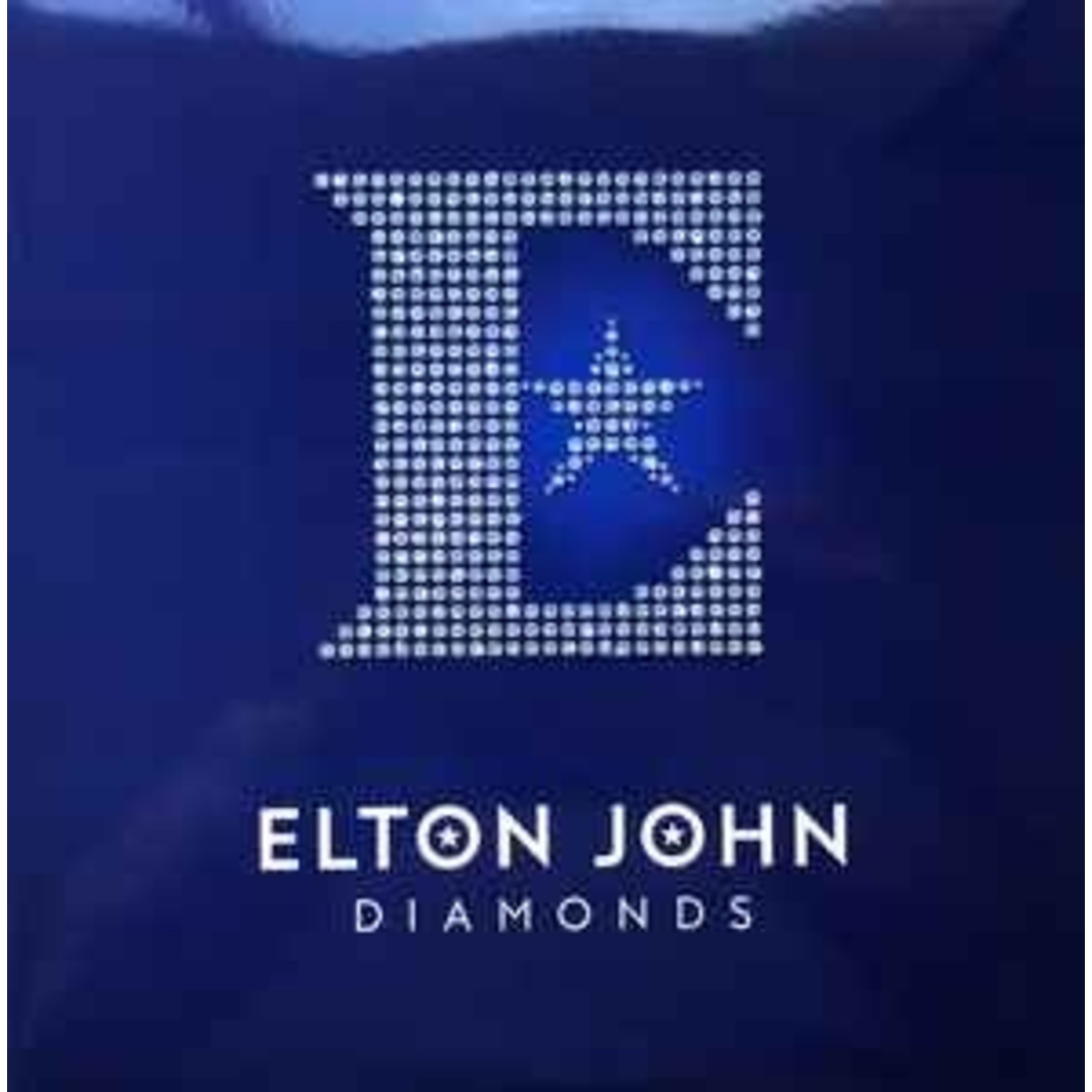 ELTON JOHN DIAMONDS  LIMITED EDITION 2LP  BLUE VINYL