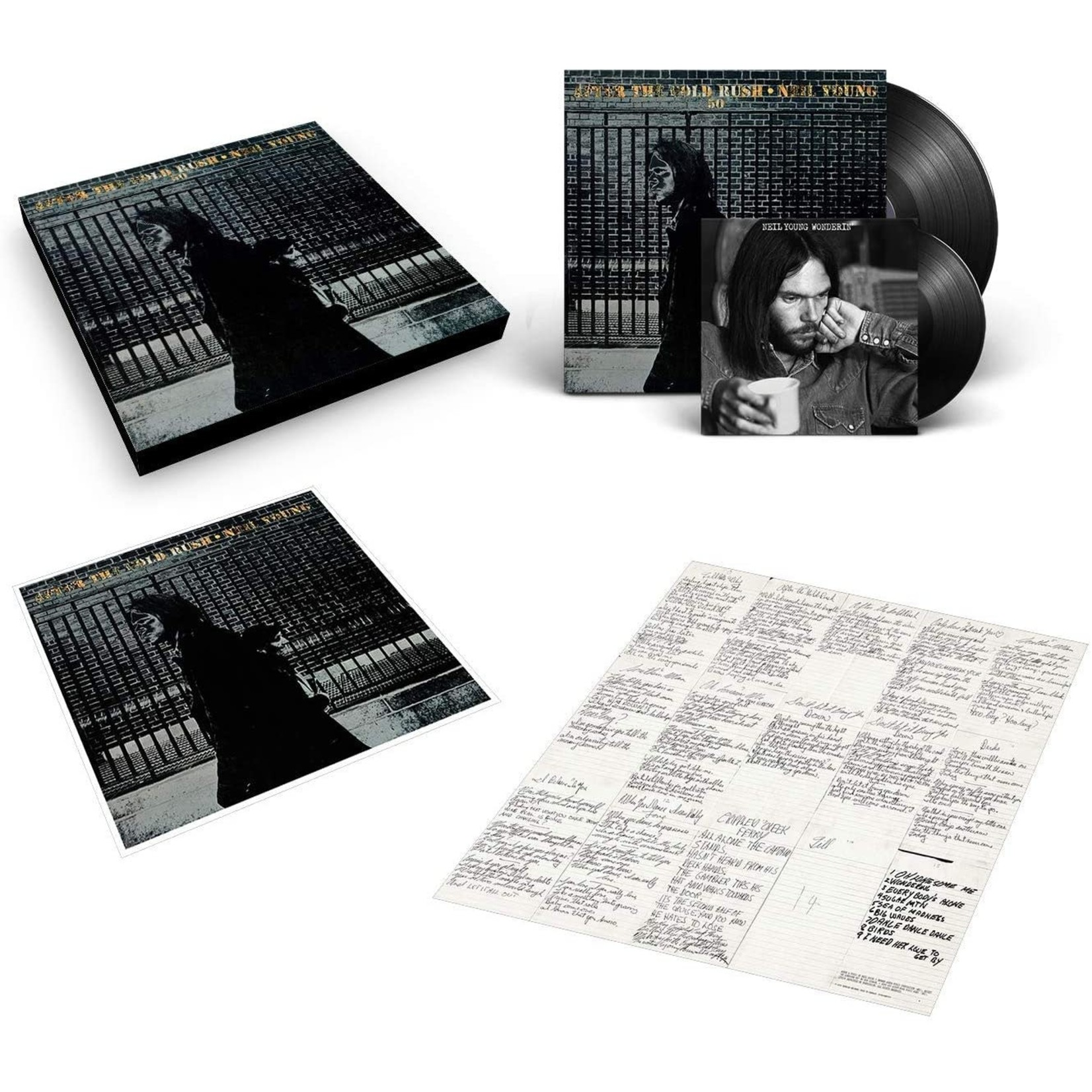"""NEIL YOUNG AFTER THE GOLD RUSH (50th ANNIVERSARY EDITION) 1 LP + 7"""""""