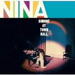 NINA SIMONE AT TOWN HALL + 1 BONUS TRACK  LTD  TRANSPARENT PURPLE VINYL