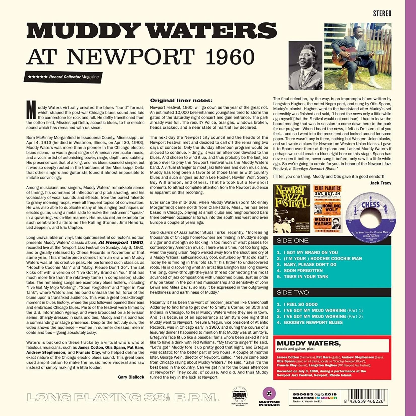 MUDDY WATERS AT NEWPORT 1960  LTD ED. PURPLE VINYL