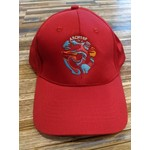 ARCHTOP N3 SPACER LOGO BASEBALL CAP RED