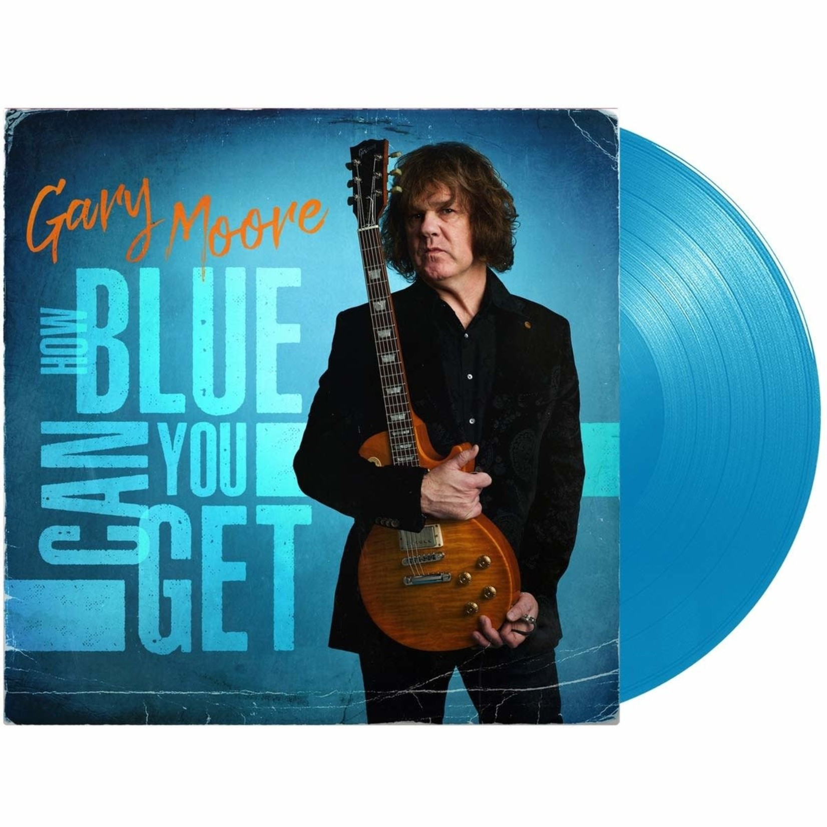 GARY MOORE HOW BLUE CAN YOU GET (LIGHT BLUE LP)