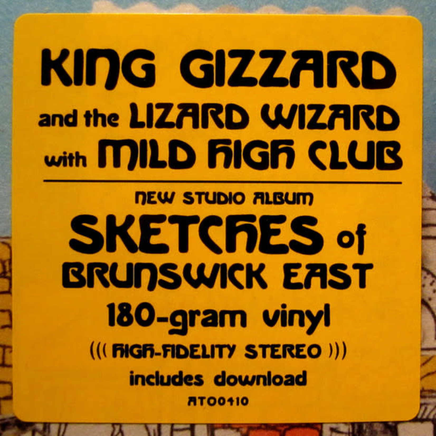 KING GIZZARD & THE LIZARD WIZARD SKETCHES OF BRUNSWICH EAST