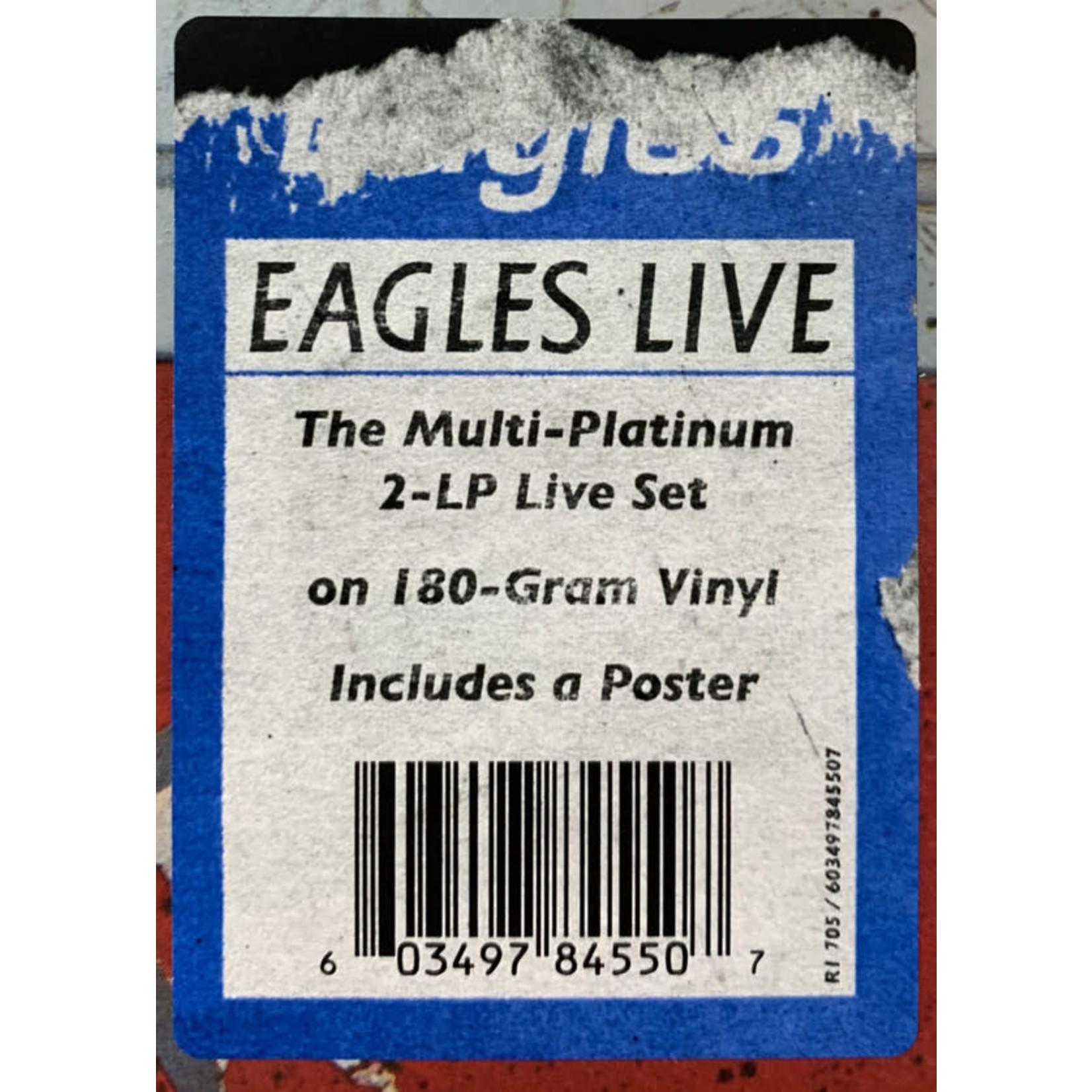 THE EAGLES EAGLES LIVE (2 LP)