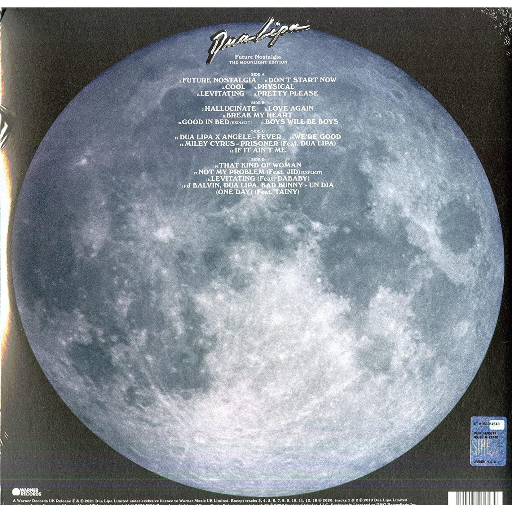 DUA LIPA FUTURE NOSTALGIA (THE MOONLIGHT EDITION) [2 LP]