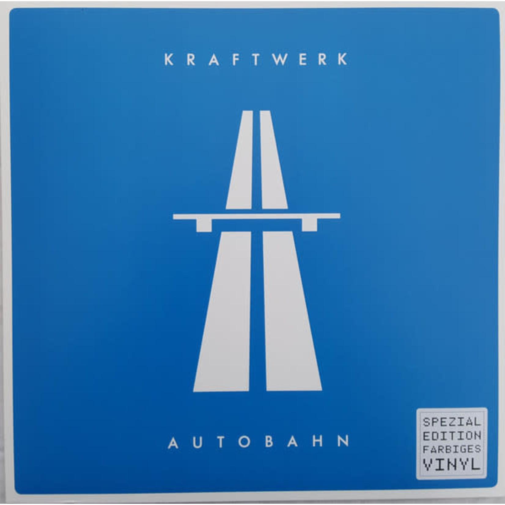 KRAFTWERK AUTOBAHN (BLUE LP)