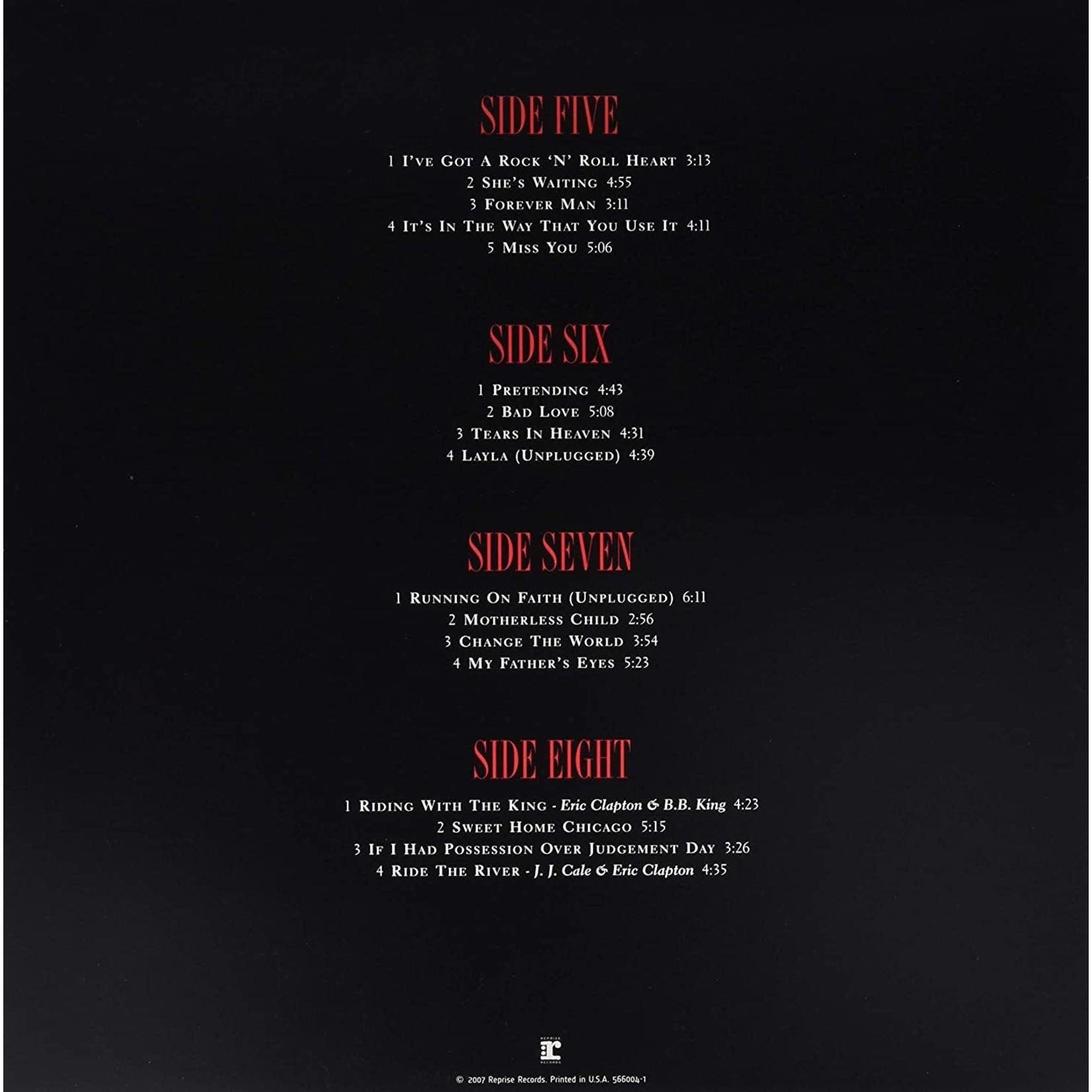"""ERIC CLAPTON COMPLETE CLAPTON (4 LPs/7"""")"""