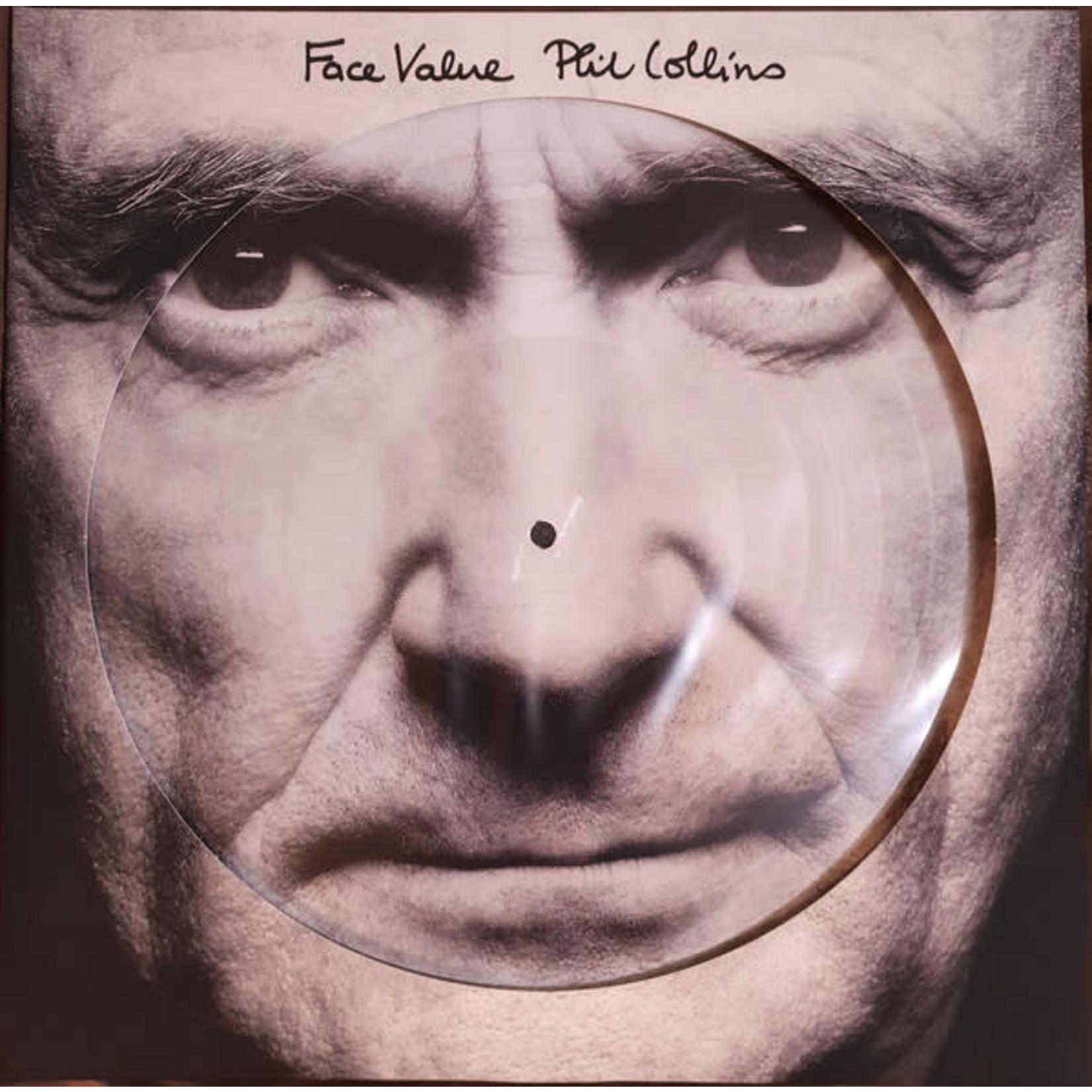 PHIL COLLINS FACE VALUE (PICTURE DISC LP)