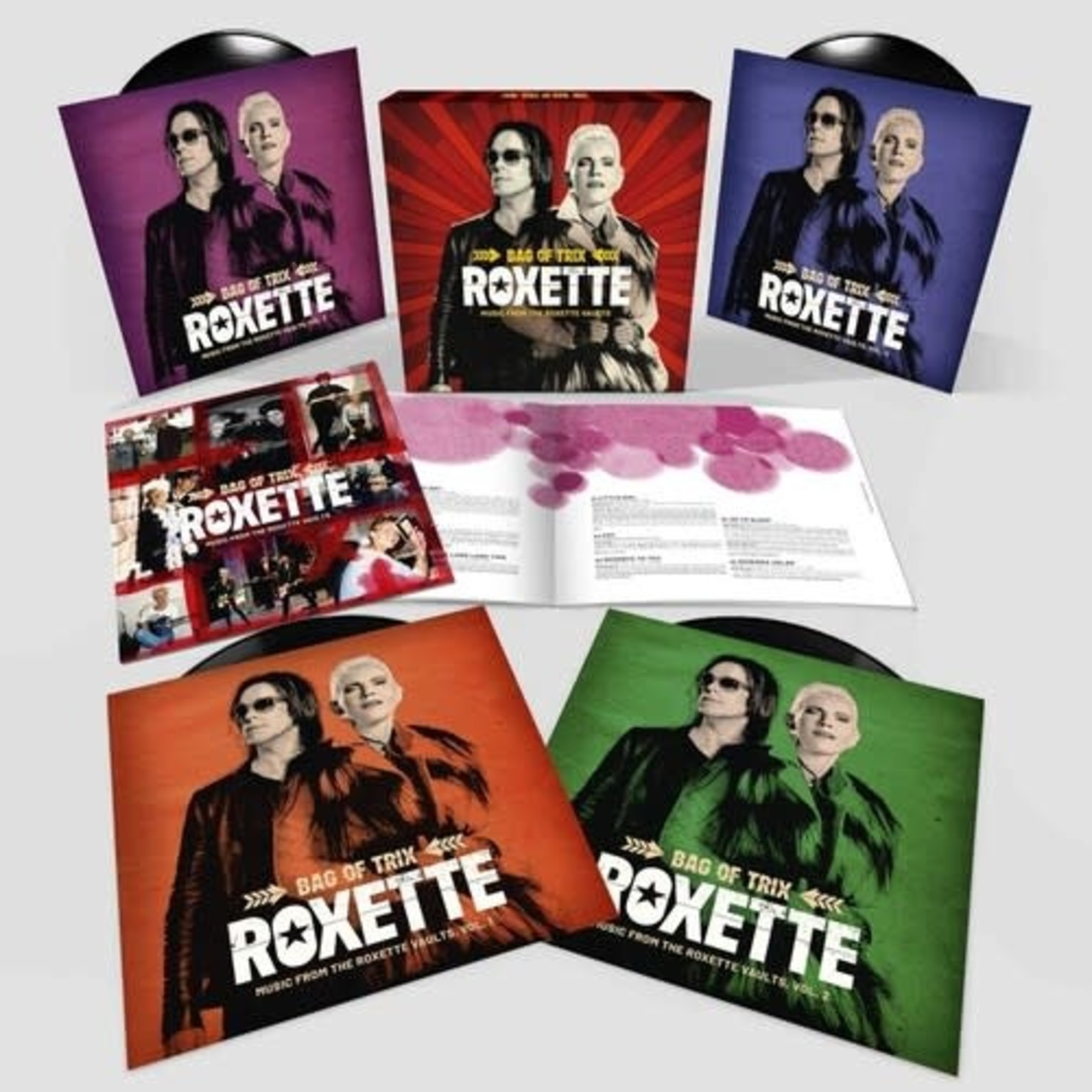 ROXETTE BAG OF TRIX – MUSIC FROM THE ROXETTE VAULTS (4LP)