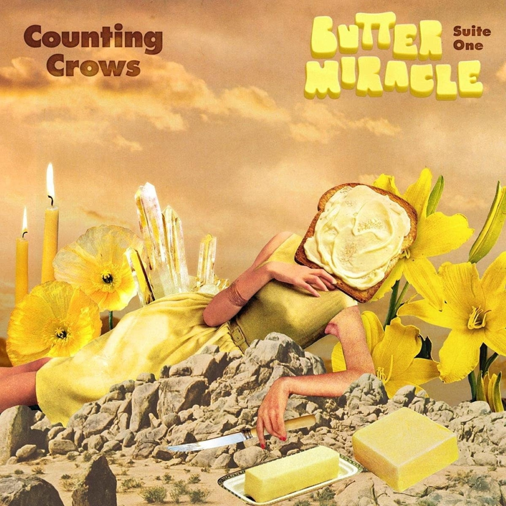 COUNTING CROWS BUTTER MIRACLE SUITE ONE (LP)