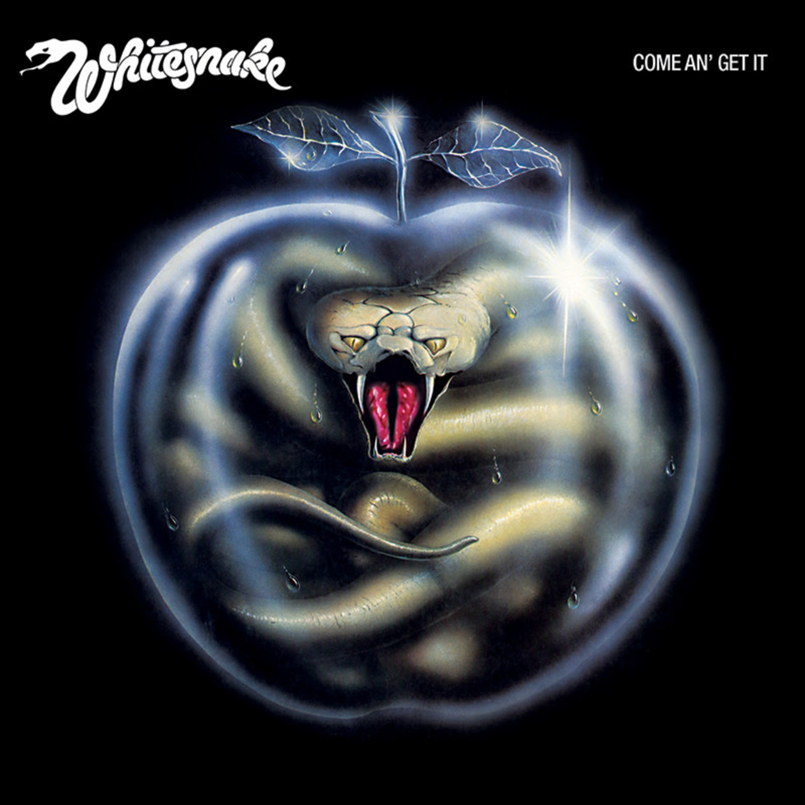 WHITESNAKE COME AN' GET IT (CLEAR WITH METALLIC BLUE & GREEN SWIRL VINYL 180G)