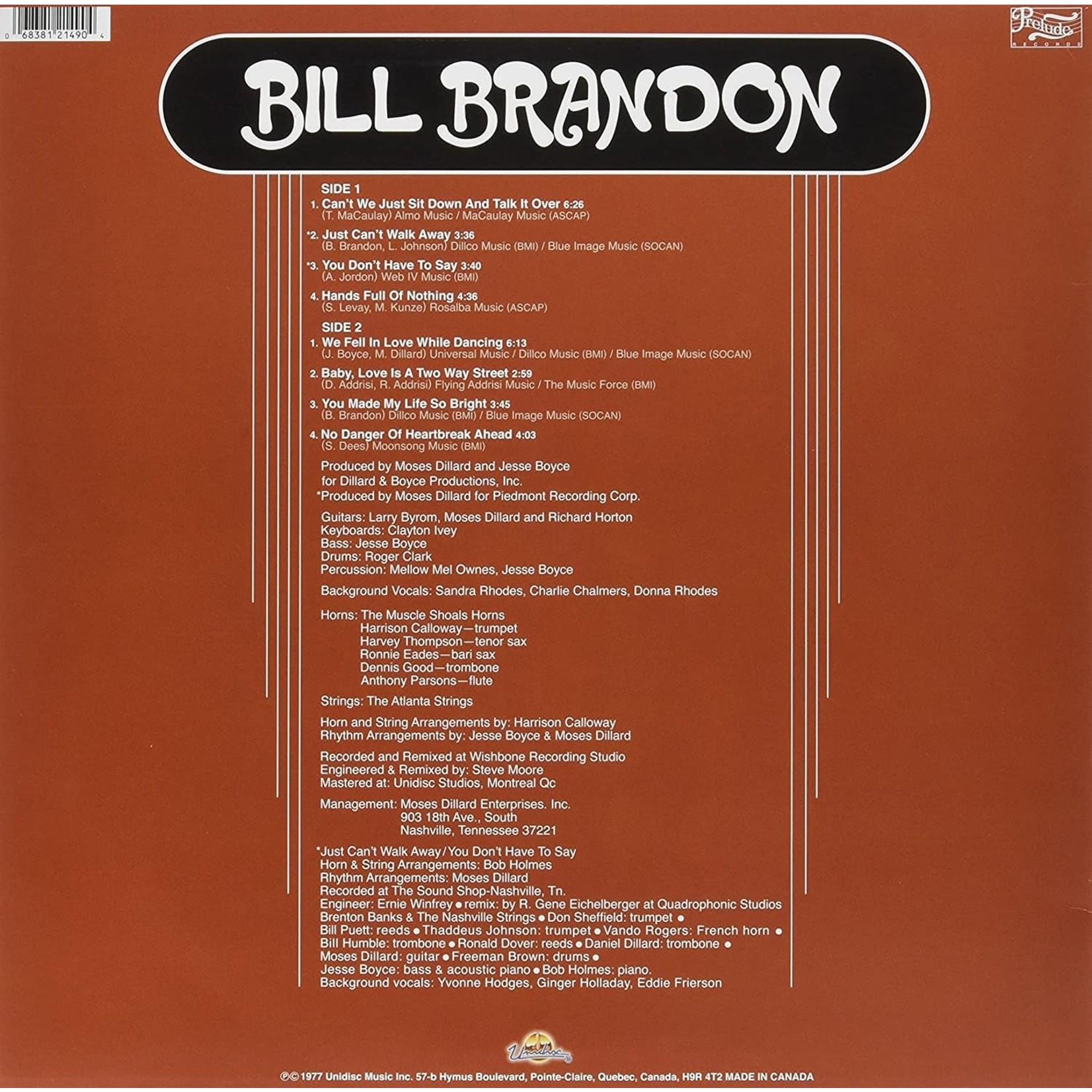 BILL BRANDON BILL BRANDON (ORANGE VINYL 180G)