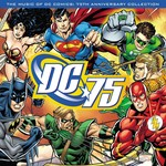 VARIOUS ARTISTS MUSIC OF DC COMICS: 75TH ANNIVERSARY COLLECTION/RED VINYL