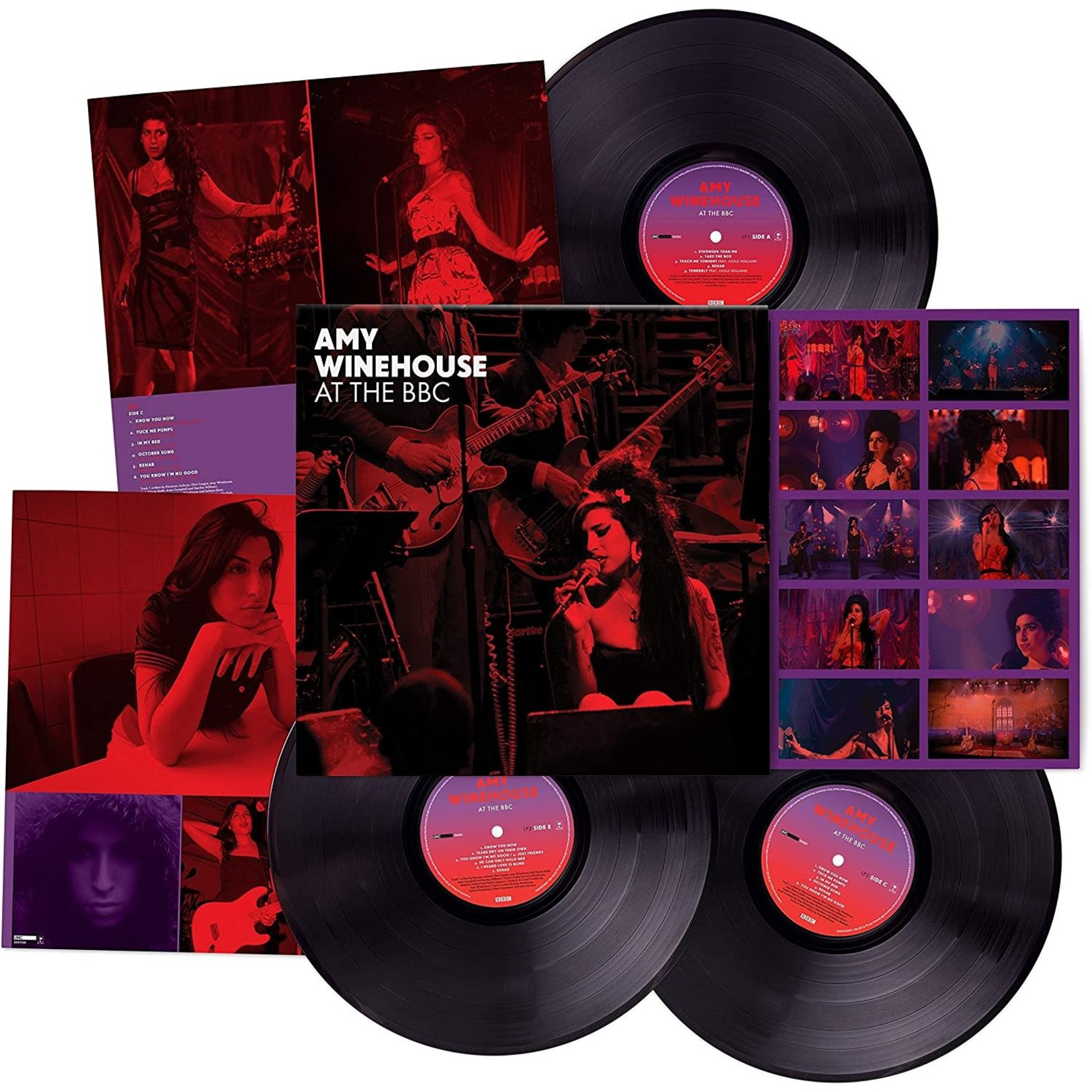 AMY WINEHOUSE AT THE BBC (3LP)