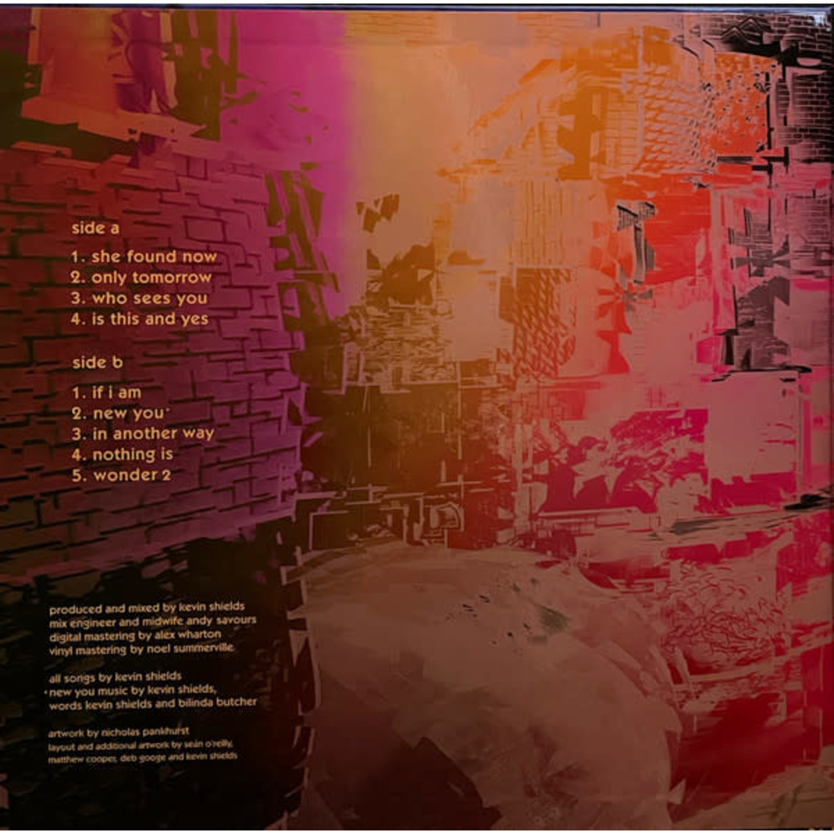 MY BLOODY VALENTINE M B V (LP)