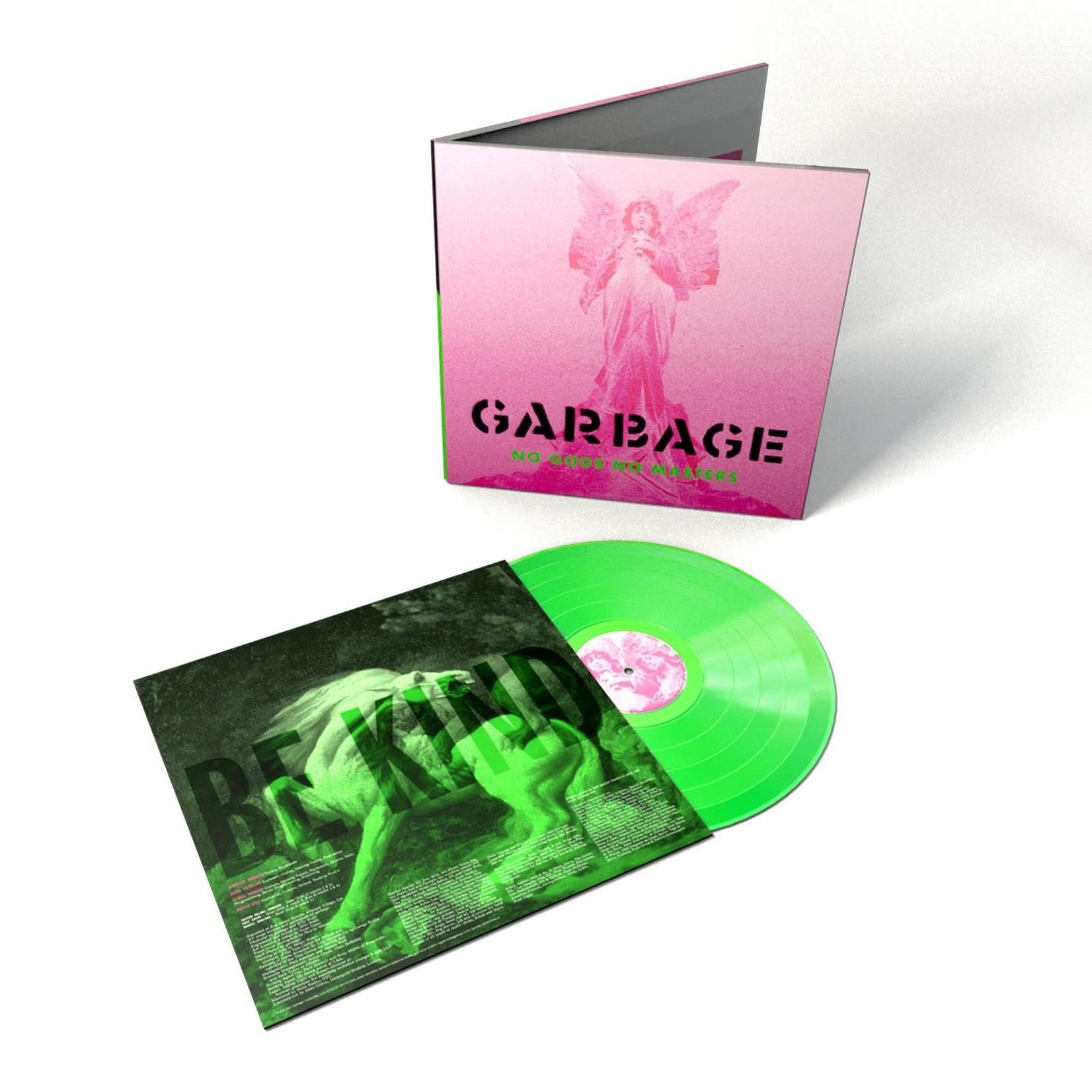 GARBAGE NO GODS NO MASTERS (GREEN LP)