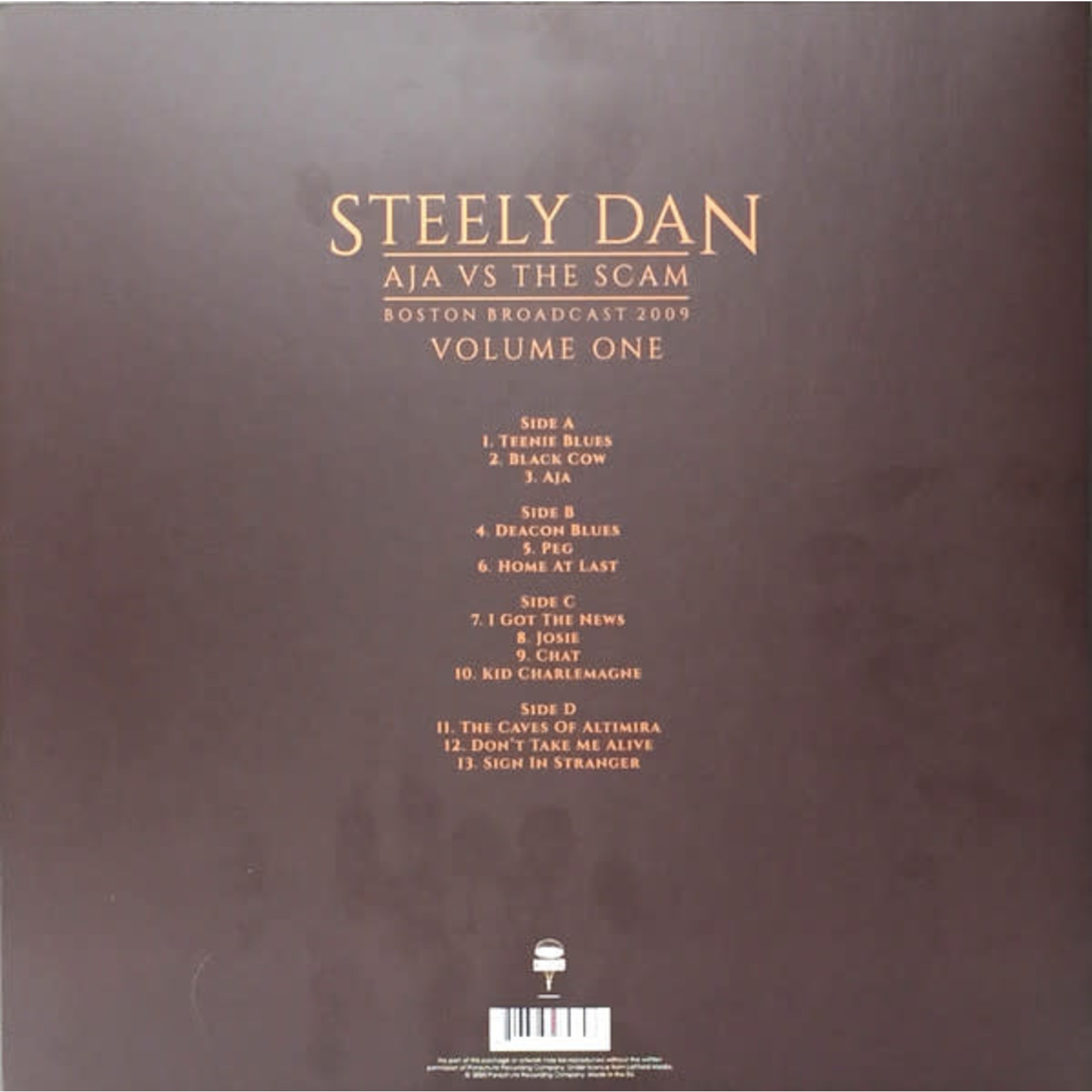 STEELY DAN AJA VS. THE SCAM VOL. 1 (2LP)