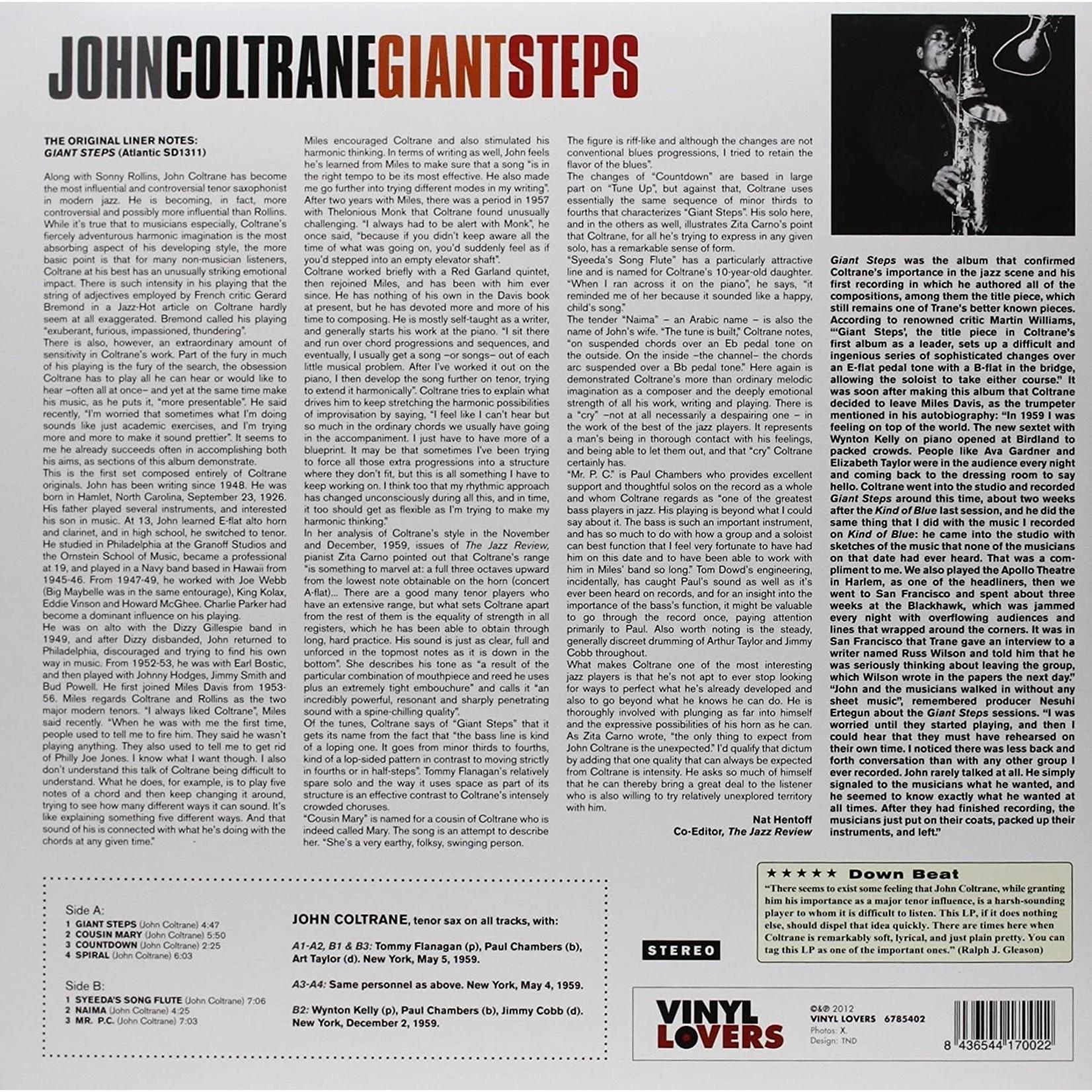 JOHN COLTRANE GIANT STEPS - 180 GRAM